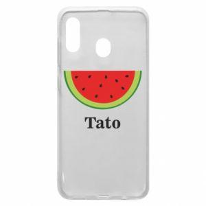 Phone case for Samsung A20 Tato arbuza - PrintSalon