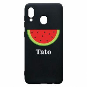 Phone case for Samsung A30 Tato arbuza - PrintSalon