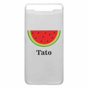 Phone case for Samsung A80 Tato arbuza - PrintSalon