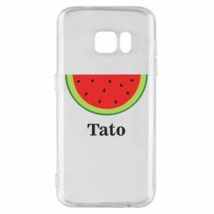Phone case for Samsung S7 Tato arbuza - PrintSalon