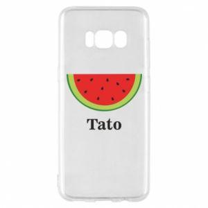 Phone case for Samsung S8 Tato arbuza - PrintSalon