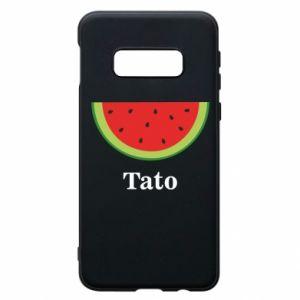 Phone case for Samsung S10e Tato arbuza - PrintSalon