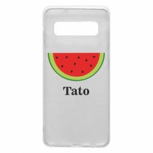 Phone case for Samsung S10 Tato arbuza - PrintSalon