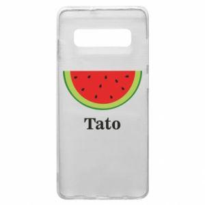 Phone case for Samsung S10+ Tato arbuza - PrintSalon