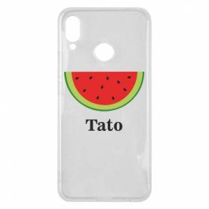 Phone case for Huawei P Smart Plus Tato arbuza - PrintSalon