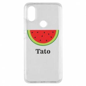 Phone case for Xiaomi Mi A2 Tato arbuza - PrintSalon