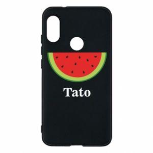 Phone case for Mi A2 Lite Tato arbuza - PrintSalon