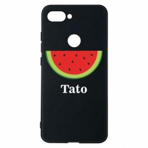 Phone case for Xiaomi Mi8 Lite Tato arbuza - PrintSalon