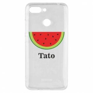 Phone case for Xiaomi Redmi 6 Tato arbuza - PrintSalon