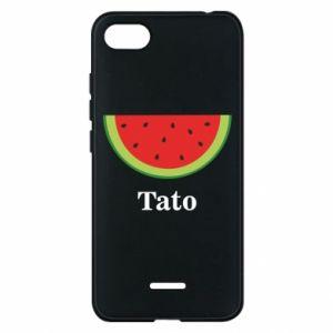 Phone case for Xiaomi Redmi 6A Tato arbuza - PrintSalon