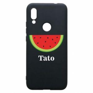 Phone case for Xiaomi Redmi 7 Tato arbuza - PrintSalon