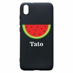 Phone case for Xiaomi Redmi 7A Tato arbuza - PrintSalon