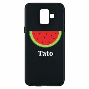 Phone case for Samsung A6 2018 Tato arbuza - PrintSalon