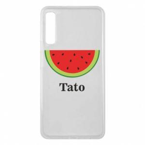 Phone case for Samsung A7 2018 Tato arbuza - PrintSalon