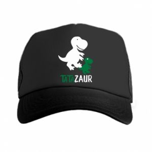 Trucker hat Daddy dinosaur