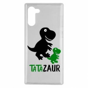 Samsung Note 10 Case Daddy dinosaur