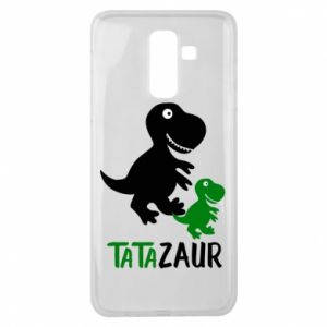 Samsung J8 2018 Case Daddy dinosaur