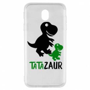 Samsung J7 2017 Case Daddy dinosaur