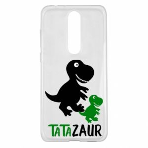 Nokia 5.1 Plus Case Daddy dinosaur