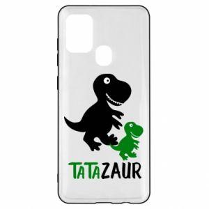 Samsung A21s Case Daddy dinosaur