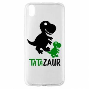 Huawei Y5 2019 Case Daddy dinosaur