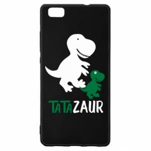 Huawei P8 Lite Case Daddy dinosaur