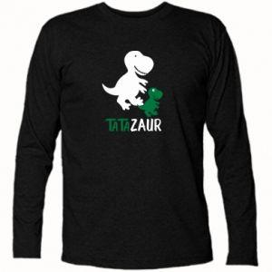 Koszulka z długim rękawem Tato dinozaur