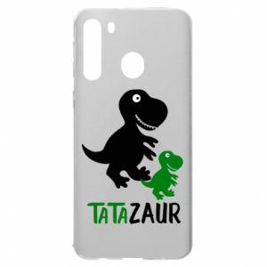 Samsung A21 Case Daddy dinosaur