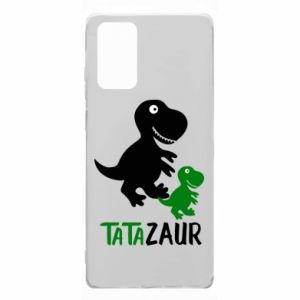 Samsung Note 20 Case Daddy dinosaur