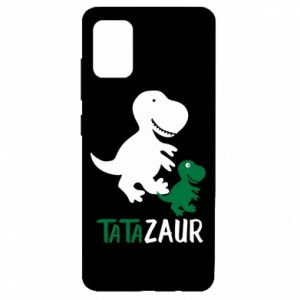 Samsung A51 Case Daddy dinosaur
