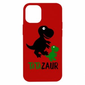 iPhone 12 Mini Case Daddy dinosaur