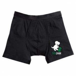 Boxer trunks Daddy dinosaur