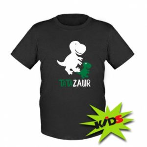 Kids T-shirt Daddy dinosaur