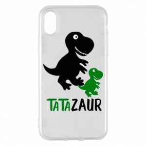 iPhone X/Xs Case Daddy dinosaur