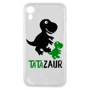 iPhone XR Case Daddy dinosaur