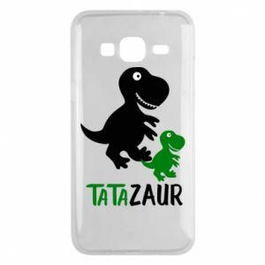 Phone case for Samsung J3 2016 Daddy dinosaur