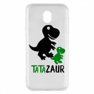 Etui na Samsung J5 2017 Tato dinozaur