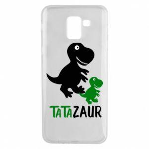 Phone case for Samsung J6 Daddy dinosaur