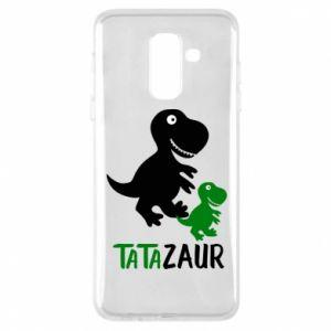 Phone case for Samsung A6+ 2018 Daddy dinosaur