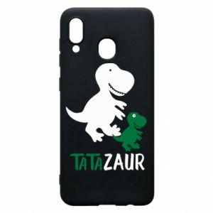 Phone case for Samsung A20 Daddy dinosaur
