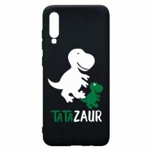 Etui na Samsung A70 Tato dinozaur