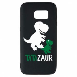 Phone case for Samsung S7 Daddy dinosaur