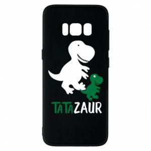 Etui na Samsung S8 Tato dinozaur