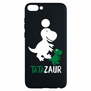 Phone case for Huawei P Smart Daddy dinosaur