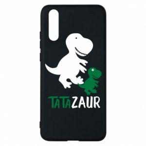 Etui na Huawei P20 Tato dinozaur