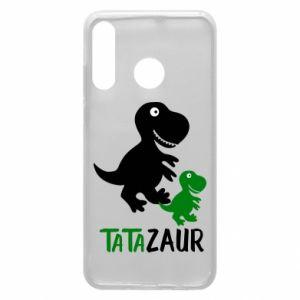 Etui na Huawei P30 Lite Tato dinozaur
