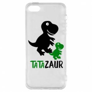 iPhone 5/5S/SE Case Daddy dinosaur