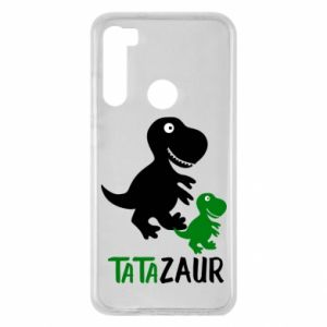 Xiaomi Redmi Note 8 Case Daddy dinosaur