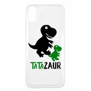 Xiaomi Redmi 9a Case Daddy dinosaur