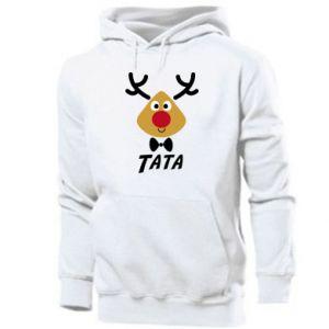 Bluza z kapturem męska Tatuś jeleń
